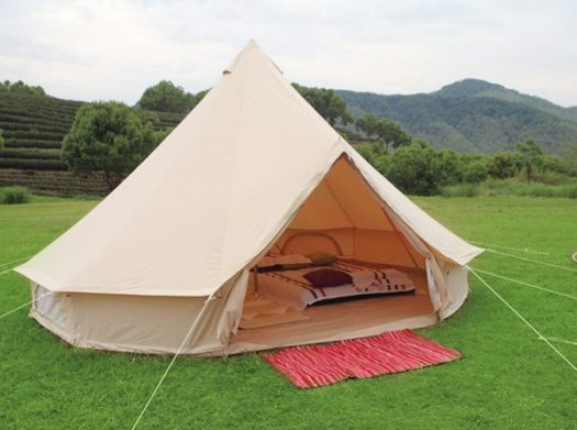 carpa glamping bell tent