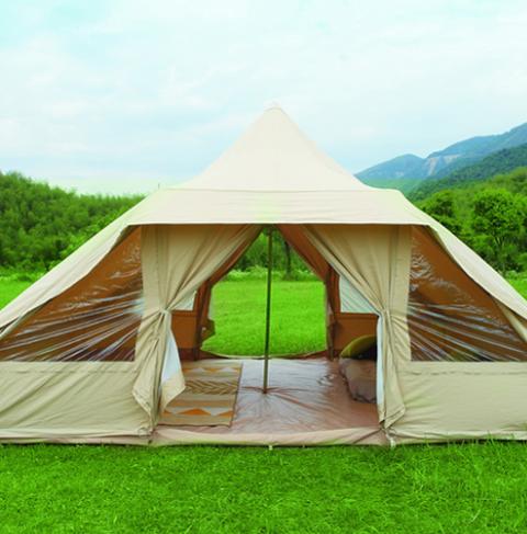 carpa glamping touareg tent