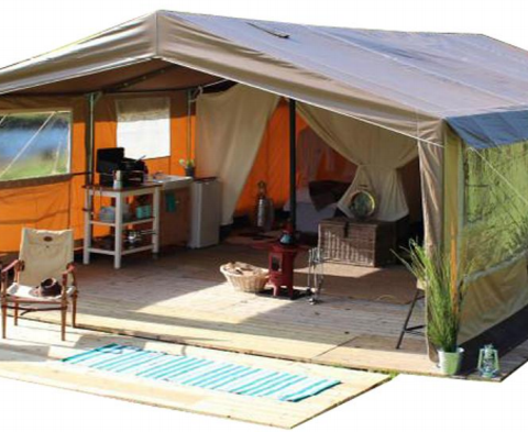 carpa glamping safari tent