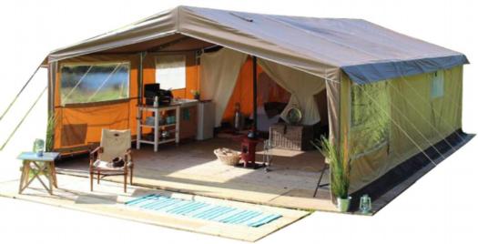 carpa glamping safari tent