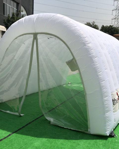 Tuneles de desinfeccion inflables